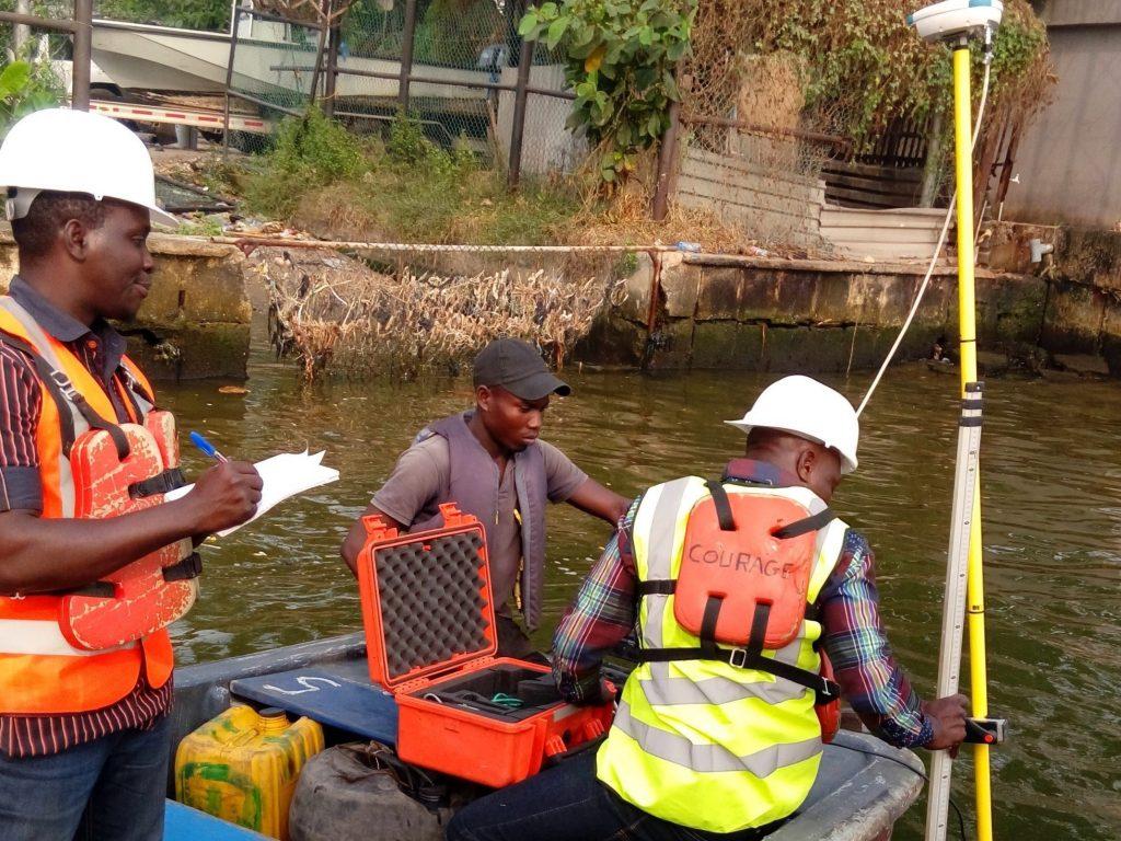 Bathymetry survey in Lagos