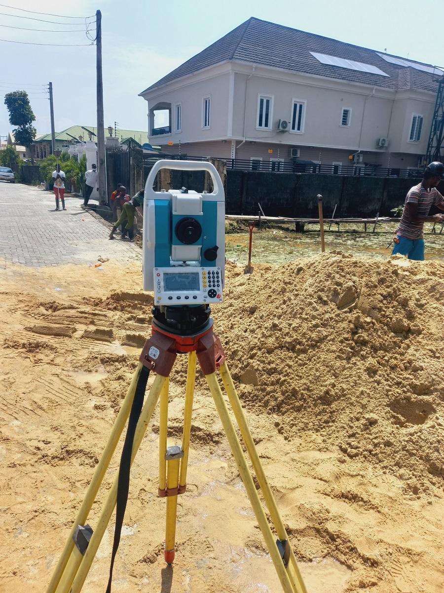 Survey at Thomas Estate Ajah